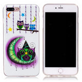 Dreamcatcher Owl iPhone Case Glows in the Dark