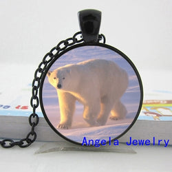 Polar Bear Lovers Pendant Necklace - 10 Choices