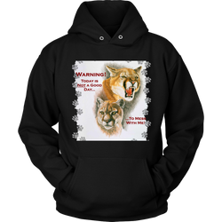 Don't Mess With Me Paws Hoodie - 12 Colors