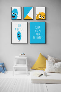 Monster Printable Posters - 3 pcs