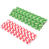100% Biodegradable Drinking Straws – Paper Straws, Pack of 25 pcs.