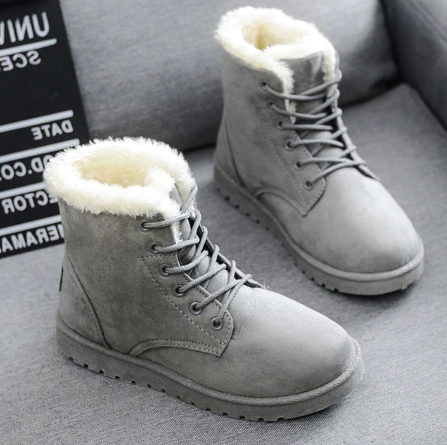 Comfy Winter Caribou Fur Shoes