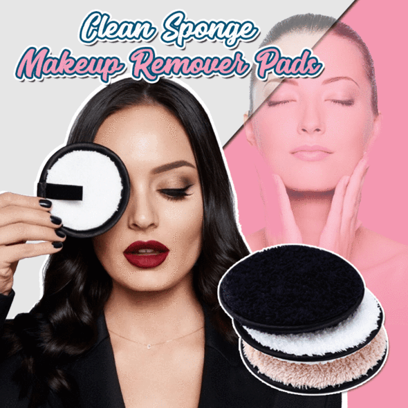 Reusable Microfiber Makeup Remover Pad