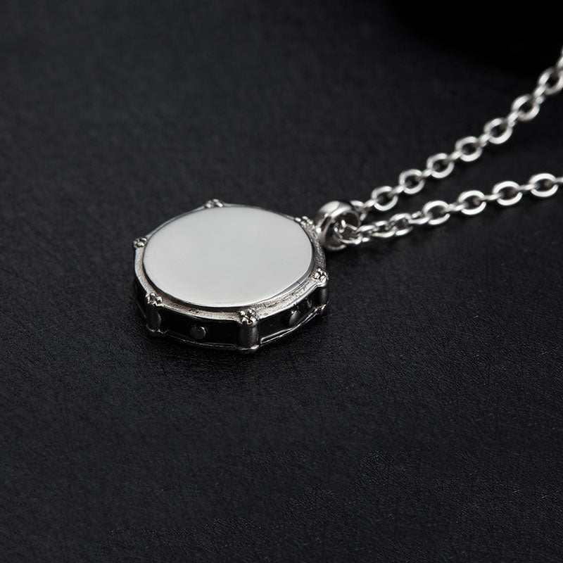 Snare Drum Necklace