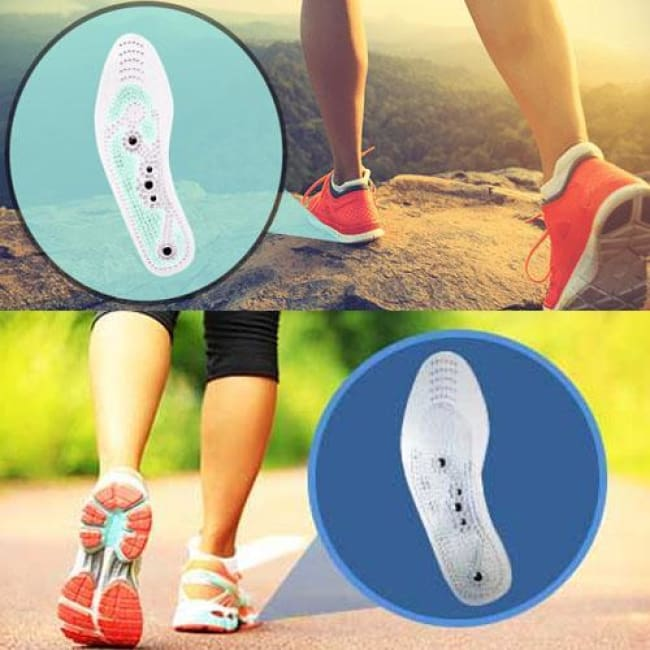 Acupuncture Fat Burning Insoles - (2Pcs/set) - Massage & Relaxation