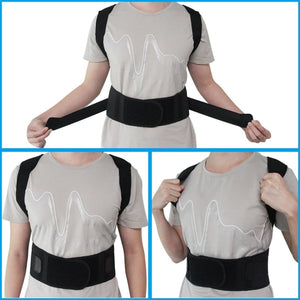 Adjustable Magnetic Posture Corrector Brace - Braces & Supports