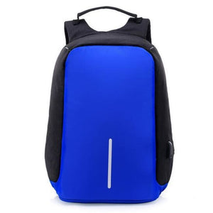 Anti-Theft Travel Backpack - Deep Blue
