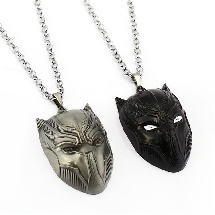 Black Panther Pendant Necklace