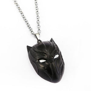 Black Panther Pendant Necklace - Black