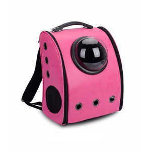 Bubble Cat Backpack - Rosy / L