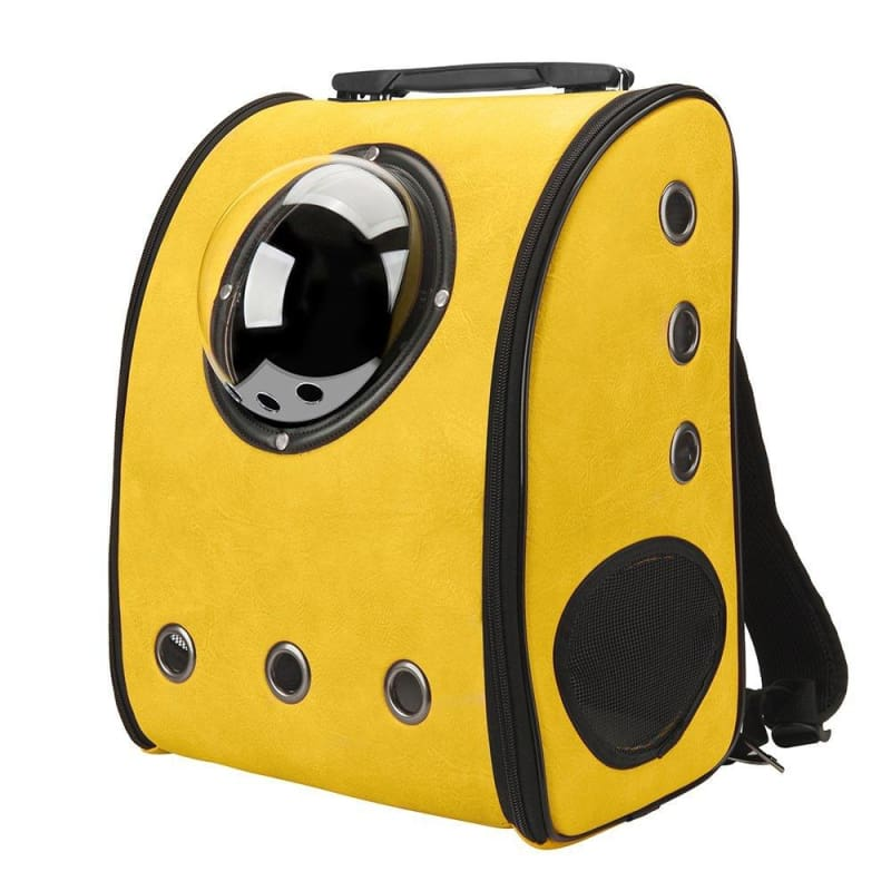 Bubble Cat Backpack - Yellow / L