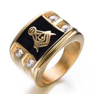 Cirew - Masonic Ring - 7 / Gold - Rings
