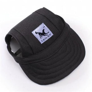 Cute Dog Baseball Cap - Black / S