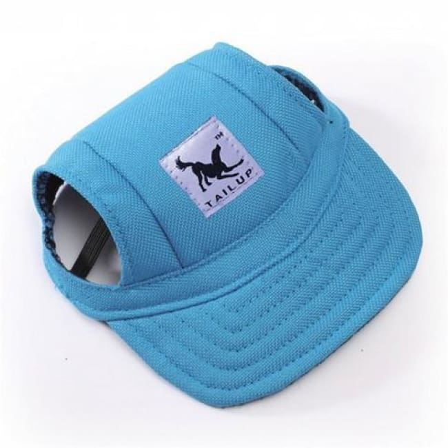 Cute Dog Baseball Cap - Blue / S