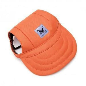Cute Dog Baseball Cap - Orange / S