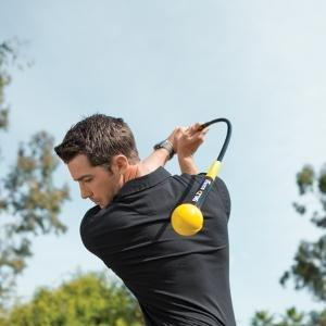 THE ORANGE WHIP GOLF SWING TRAINER AIDS