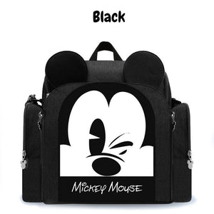 Disney Multi-Functional Mummy Bag - Black - Diaper Bags