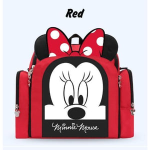 Disney Multi-Functional Mummy Bag - Red - Diaper Bags