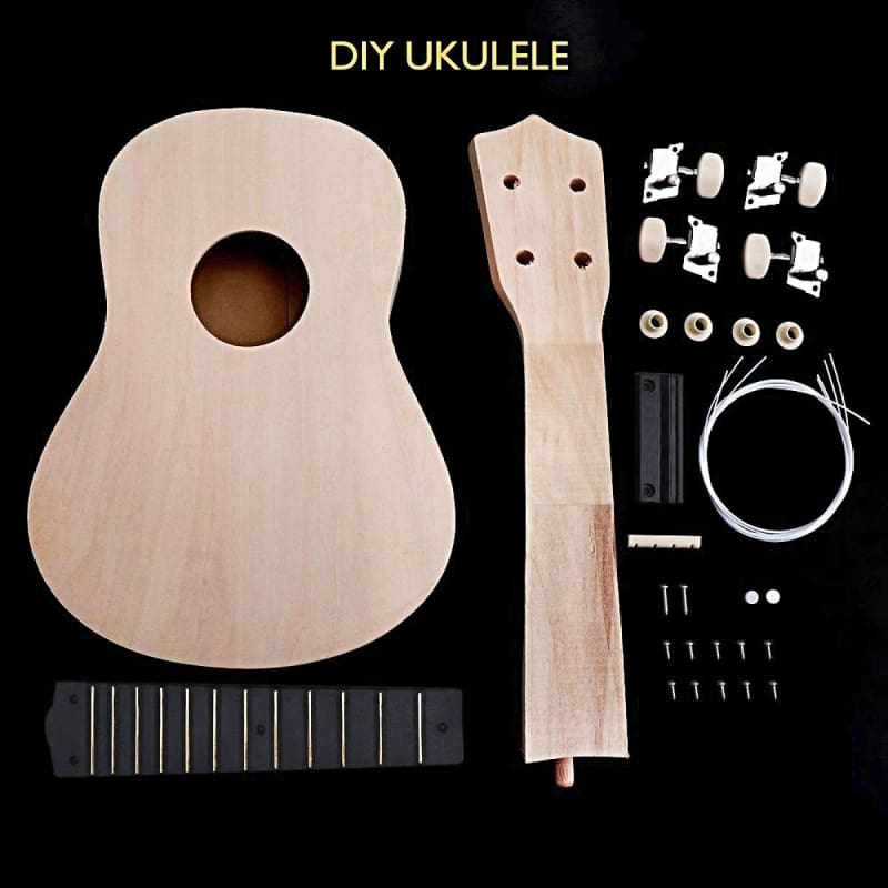 Diy Handmade Ukulele Kit - Basswood (Save 60%) - Ukulele