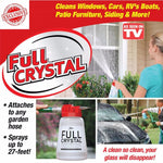 Full Crystal Outdoor Glass Cleaner - Cleaning Brushes