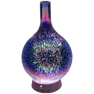 Glass Starburst Aromatherapy Ultrasonic Essential Oil Diffuser & Humidifier