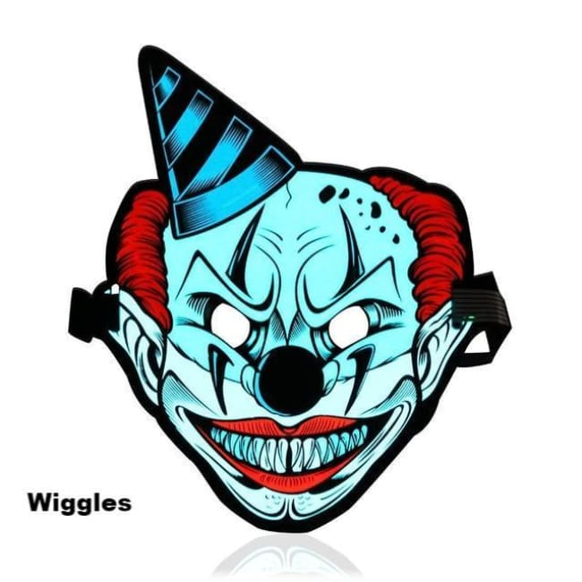 Halloween Led Mask (Sound Reactive) - Wiggles