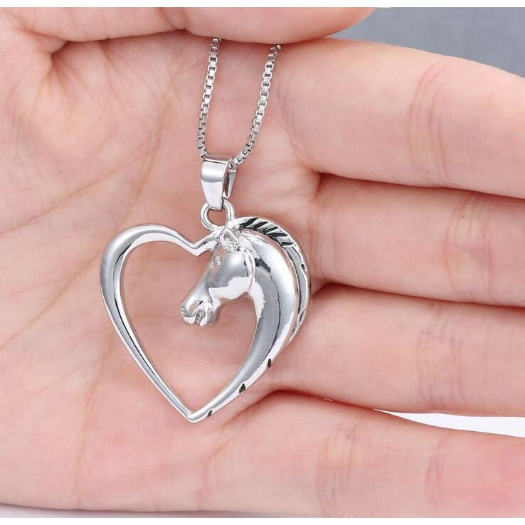 Horse In Our Heart Necklace