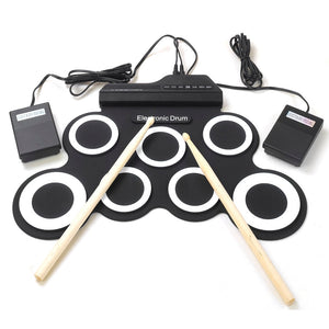 Portable Roll Up Drum Set