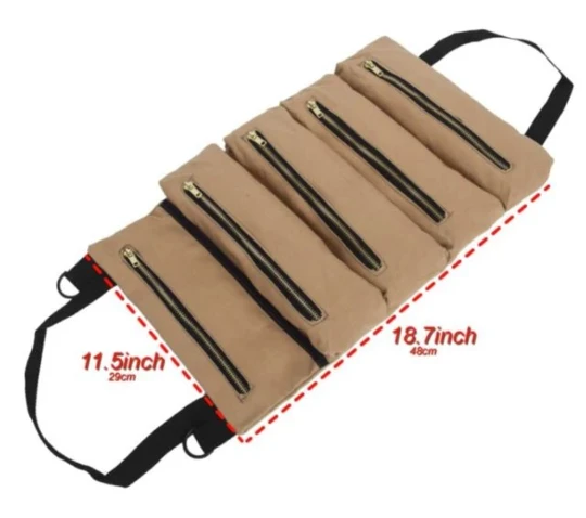 Multipurpose Roll Up Organizer Tool Bag
