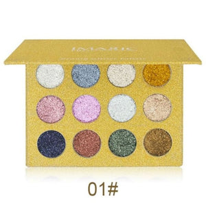Imagic Luxury Collection Pressed Glitter Palette - #1