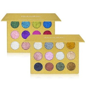 Imagic Luxury Collection Pressed Glitter Palette - Both Colors For $40