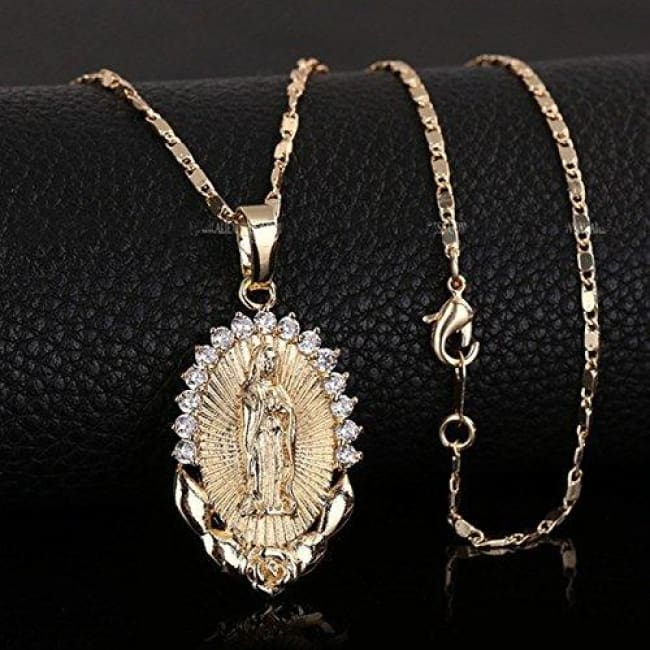Limited Edition - Virgin Mary Necklace - Pendant Necklaces