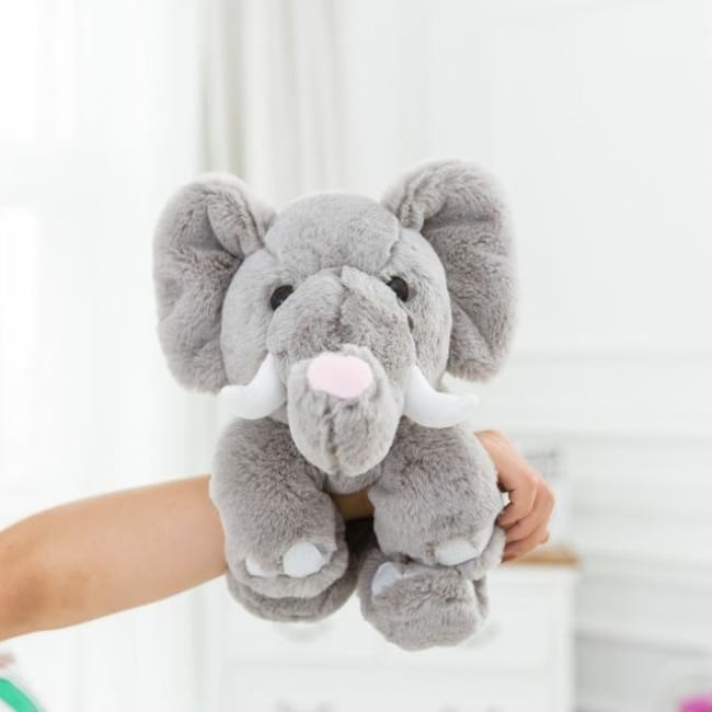 Magic Wrist Hugging Stuffed Animal Toy - Hugging Elephant Toy - Movies & Tv