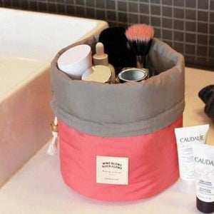 Makeup Travel Bag - Red