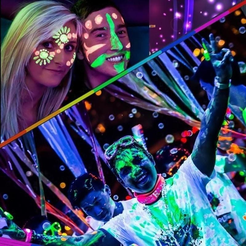 Neon Fluorescent Body Paint