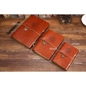 Pirate Leather Vintage Notebook
