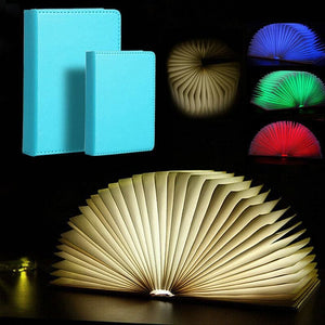 Portable Book Shaped Lamp