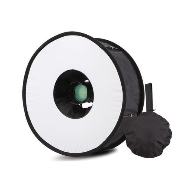 Professional Ring Speedlight Softbox - Flash Diffuser