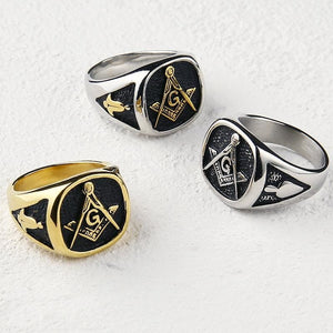 The Mix - Masonic Ring - Rings