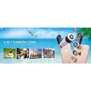 Ultimate 4 In 1 Camera Lens Kit