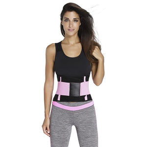 Waist Trainer Sweat Belt Postpartum Belly Fat Trimmer Band - Waist Cinchers