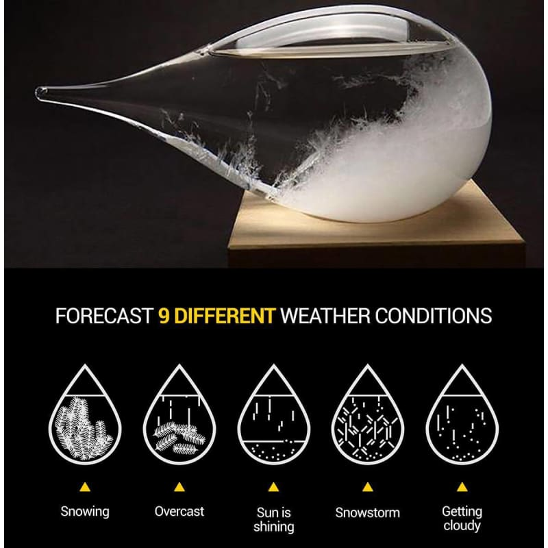 Weather Predicting Storm Glass