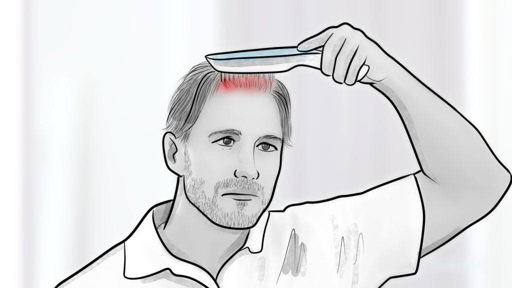 how to use a laser comb 1