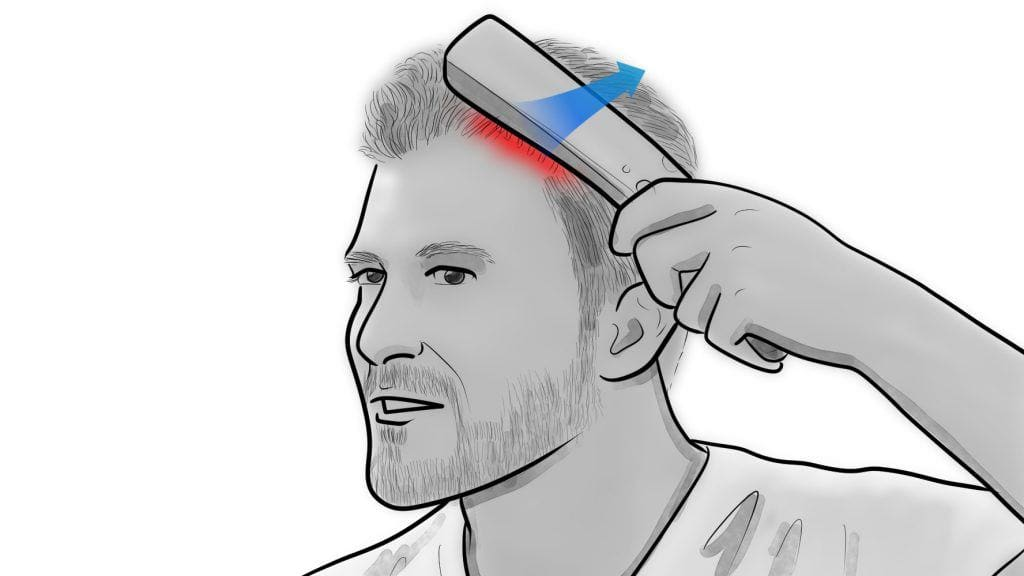 how to use a laser comb 7