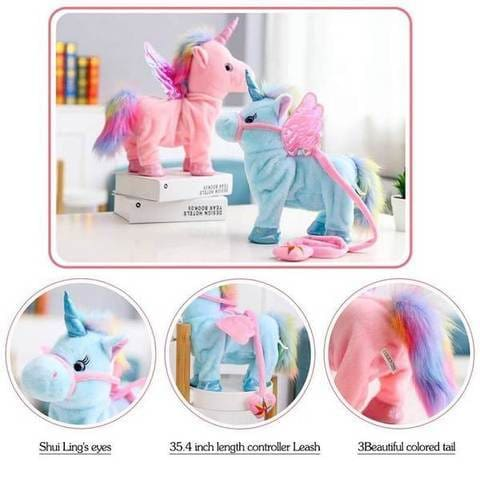 Electric Walking Unicorn Toy For Children Christmas Gifts