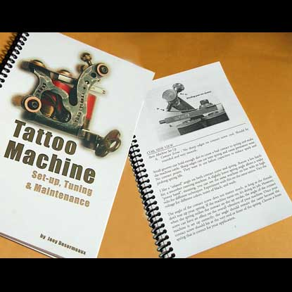 Tattoo Machine: Set up, Tuning, and Maintenance