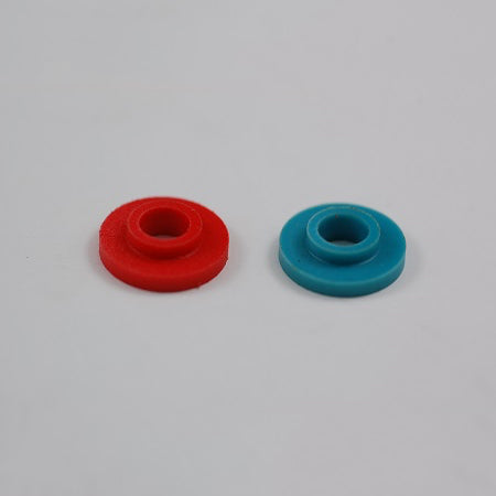 Screw Insulators Red and Blue