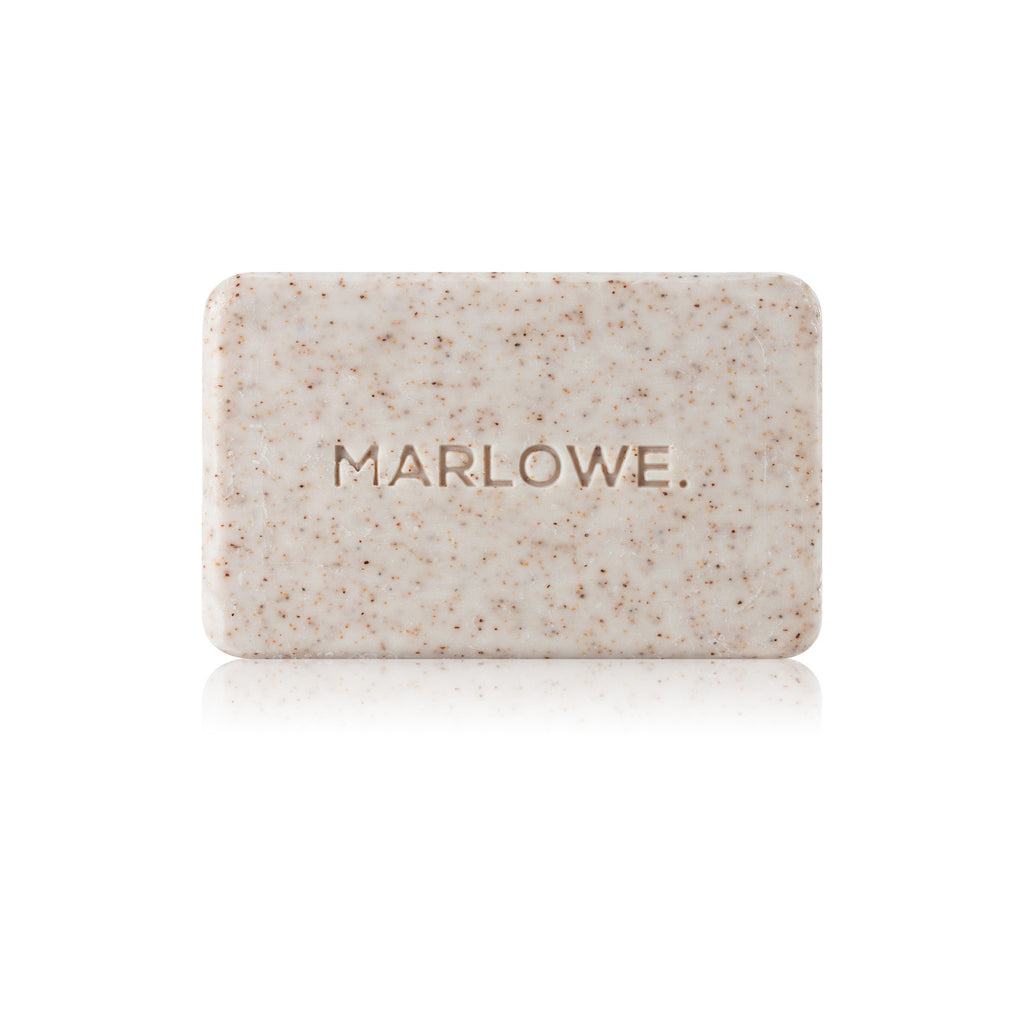 No. 102 Body Scrub Soap Bar - Santal