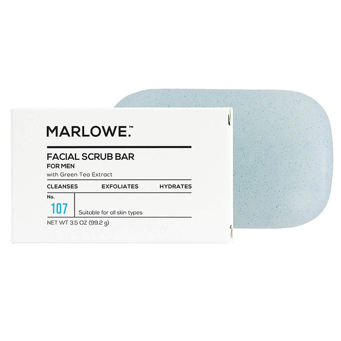 No. 107 Men's Facial Scrub Soap 3.5 oz