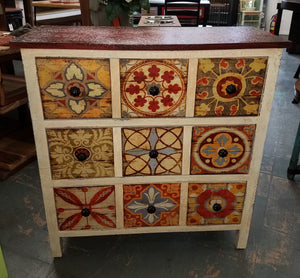 Hand-Painted Short Chest